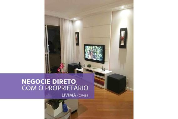Apartamento À Venda Na Avenida Lins De Vasconcelos Em Cambuci, São Paulo - Sp - Liv-2129