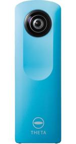 Ricoh Theta M15 Azul - Camera Filmadora - Lente Arranhada 4g