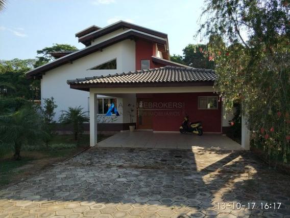Casa Em Condomínio Em Cabreúva,4 Suítes,4 Vagas De Garagem. - Ca01346 - 33920482