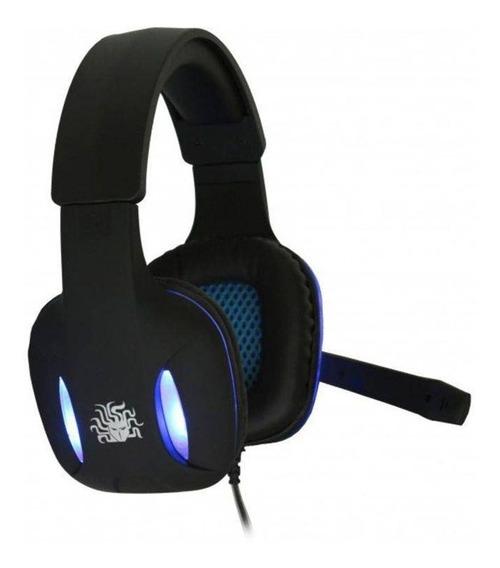 Headset Gamer Nemesis 5+ 0054 Led Com Fio Pc Pronta Entrega