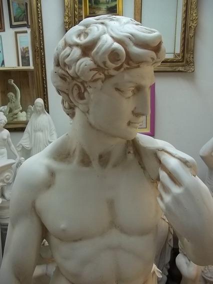 Estatuas, El David, De 1,70 M., En Cemento, Jardín, Parques
