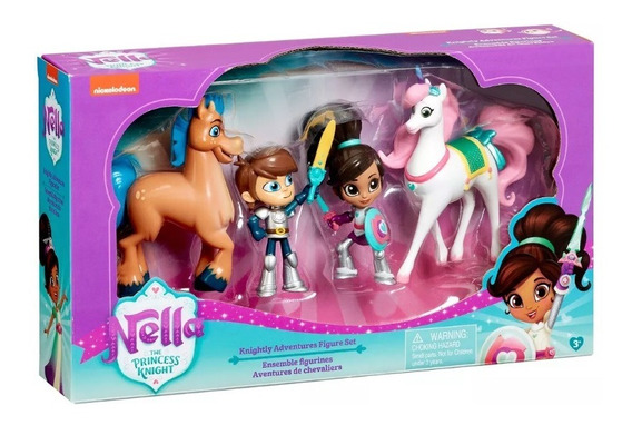 Princesa Nella C/ 4 Personagem -original Disney - P. Entrega