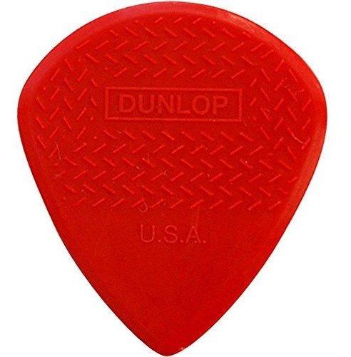 Imagen 1 de 3 de Dunlop Max Grip Jazz Iii Puas Para Guitarra Nailon, Rojo