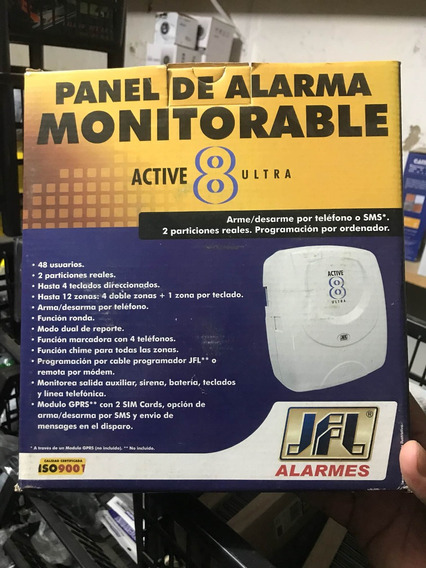 Central De Alarme Jfl Active 8