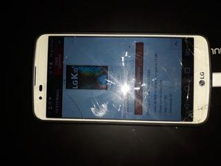 LG K10, Apenas Com Tela Trincada