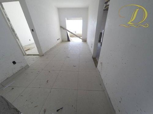 Imagem 1 de 14 de Apartamento Com 2 Dormitórios E 2 Vagas À Venda Em Praia Grande Com Lazer Completo E Varanda Gourmet!!! - Ap3453