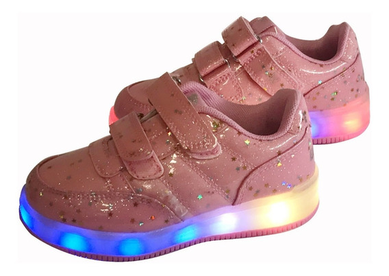 Zapatillas Con Luces Led Niña Finders Dress Up