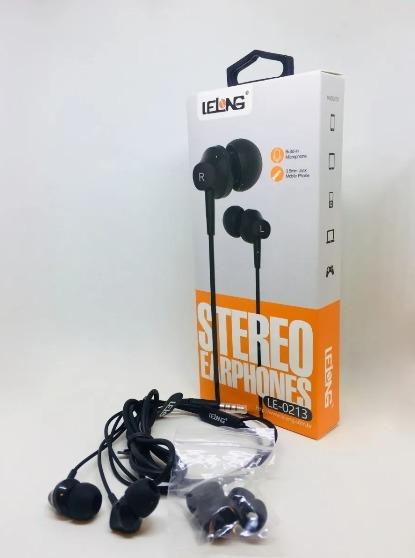 Fone Com Microfone Com Fio Atende Chamada Stereo 3 Borrachas
