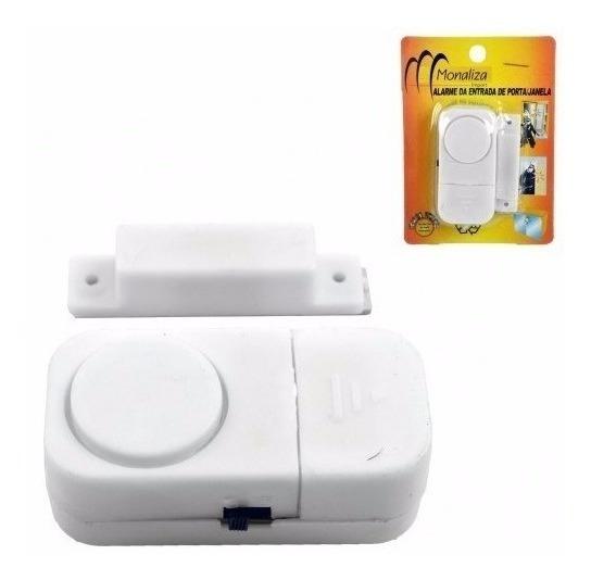 Kit 6 Alarmes Sonoro De Porta Ou Janela Sem Fios Promoção