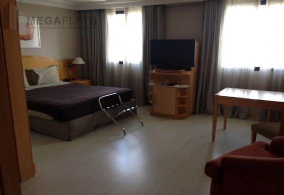 03640 - Flat 1 Dorm, Higienópolis - São Paulo/sp - 3640