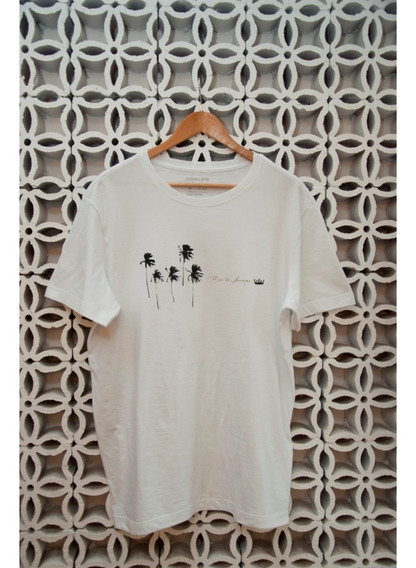 Camiseta Branca Coqueiros