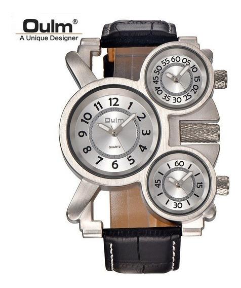 Reloj 3 Diales Unico En Mercado Libre Caja Acero Inoxidable