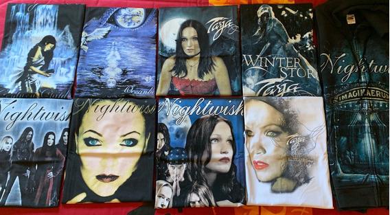 Raridade! Coleção Nightwish Tarja Turunen - Camiseta Moletom