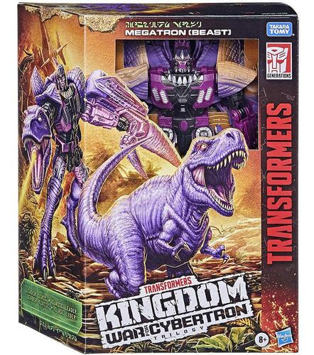 Figura Transformers Megatron T-rex 18cm - Kingdom Wfc Hasbro