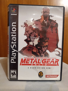 Metal Gear Solid Tactical Espionage Action (c/m) Ps1 Od.st
