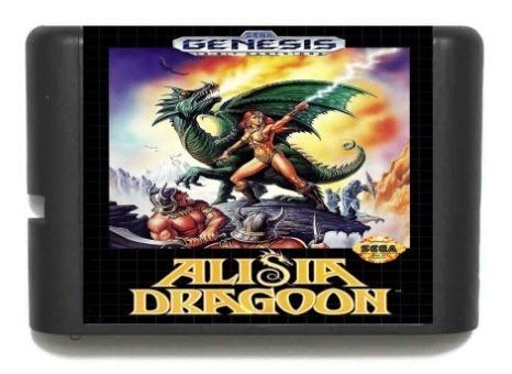 Alisia Dragoon Sega Mega Drive Genesis + Brinde