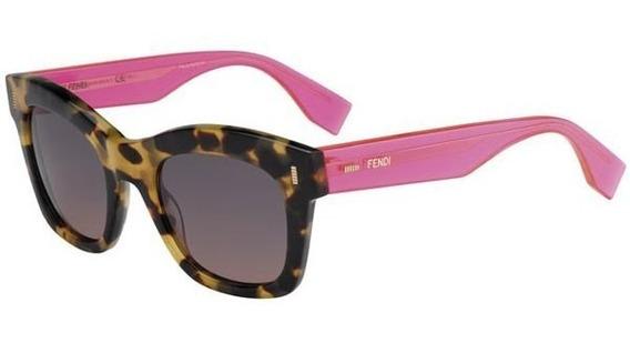 Óculos De Sol Original Color Block Fendi Tartaruga, Ray Ban
