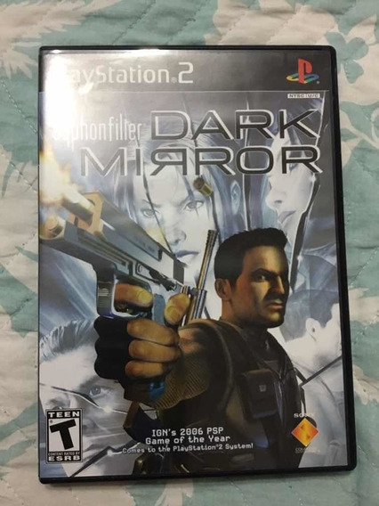Game - Syphon Filter - Dark Mirror - Ps2