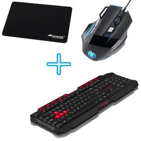 Kit Barato Para Montar Computador Teclado + Mouse + Mousepad
