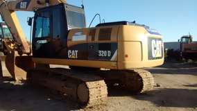 Escavadeiras Hidráulica Cat 320d Ano 2013 C/ Ar