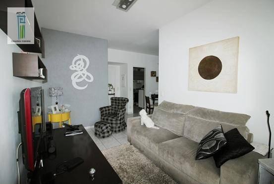 Apartamento Com 3 Dormitórios À Venda, 72 M² Por R$ 450.000 - Vila Gustavo - São Paulo/sp - Ap0535