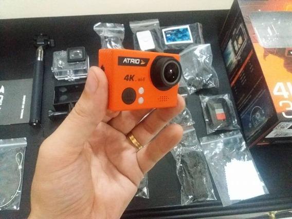 Câmera Esportiva Atrio Fullsport Cam 4k Dc185 16mp Wifi