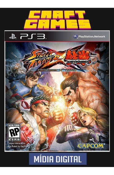 Street Fighter X Tekken Ps3 Psn Envio Imediato