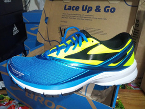 Zapatilla Brooks Launch 4 Blue/yellow Nuevas 43