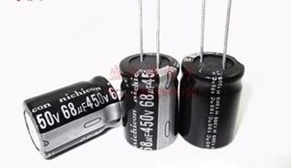 Condensador Electrolítico 450 V 68 Uf 68 Uf 450 V 18 X 25