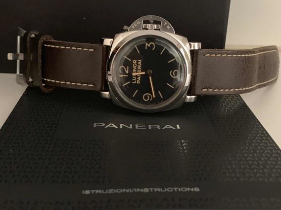 Relógio Panerai Luminor Marina Pam 372 47mm 3 Dias Completo.