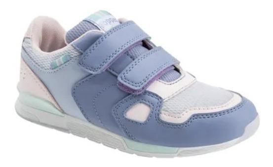 Zapatillas Topper Beggie Velcro Kids Moda Unisex Niños