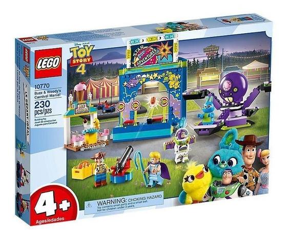 Lego Juniors Toy Story 4 Buzz Y Woody: Locos En Feria 10770