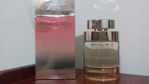 Perfume Michael Kors Wonderlust Edp 100ml Feminino Usado