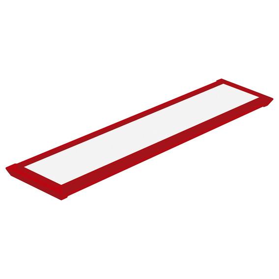 Luminária Sobrepor Taschibra Tl Slim 10 Autovolt Vermelha
