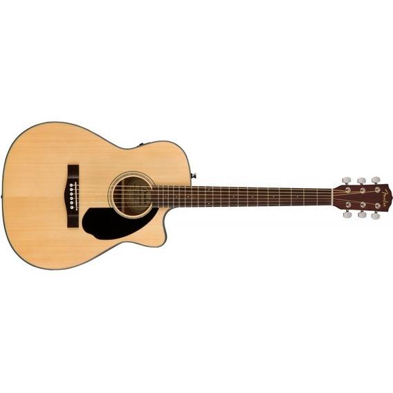 Fender Cc-60sce Natural Fishman Electroacustica - Soundgroup