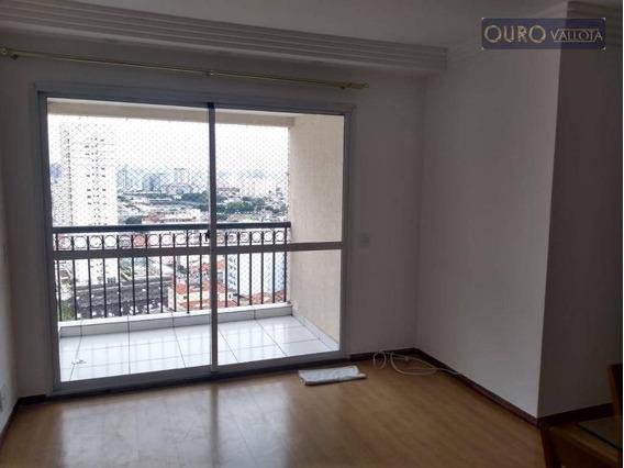 Apartamento Com 3 Dormitórios Para Alugar, 68 M² Por R$ 1.900,00/mês - Mooca - São Paulo/sp - Ap1087