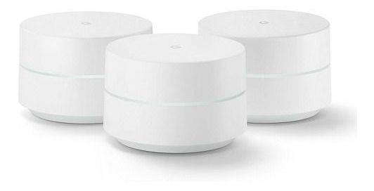 Combo 3 Roteadores Google Wifi Mesh Dual Band Novo Vitrine