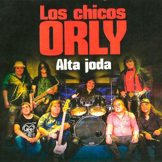 Cd Los Chicos Orly Alta Joda En Stock Nuevo Musicanoba