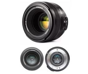 Lente Yongnuo 50mm Yn F1.8 Nikon D90, D3200, D5100, D7000