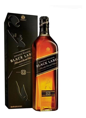 Whisky Johnnie Walker Black Label 1lt.