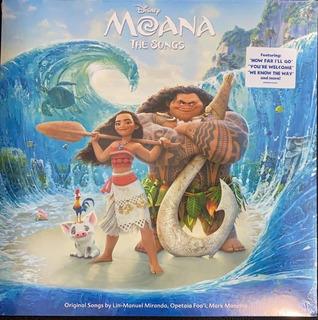 Moana, The Songs, Vinilo, Musica Para Chicos. Nuevo