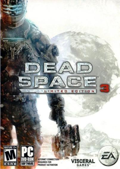 Jogo Pc Dvd - Dead Space 3 - Lacrado - Game Pc Dvd