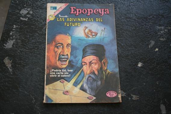Revista Las Adivinanzas Del Futuro , Epopeya , Editorial N
