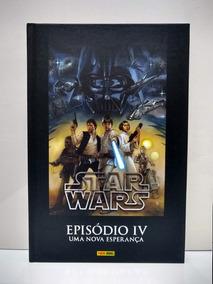 Star Wars Episódio Iv Uma Nova Esperança Hq Capa Dura