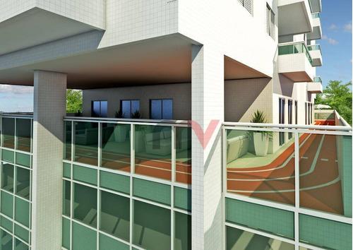 Apartamento À Venda, 92 M² Por R$ 439.870,00 - Canto Do Forte - Praia Grande/sp - Ap1155
