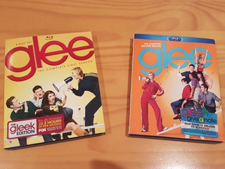 Glee Bluray Primeira E Segunda Temporadas