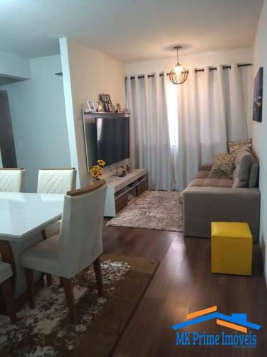 Imagem 1 de 15 de Apartamento Térreo 55 M²  Com 02 Dormitórios No Condomínio São Cristóvão - 2113