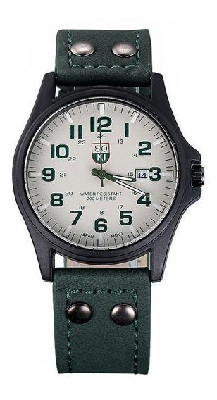 Reloj Soki Green Nuevo Moda Original Estilo Casual