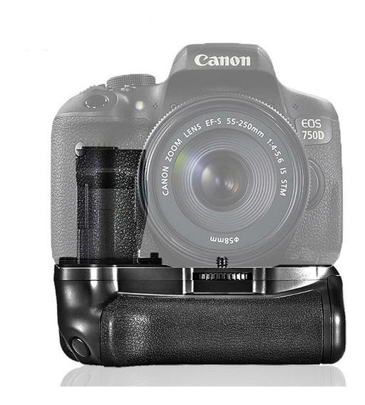 Battery Grip Para Câmera Canon T6i, T6s, 750d, 760d, X8i
