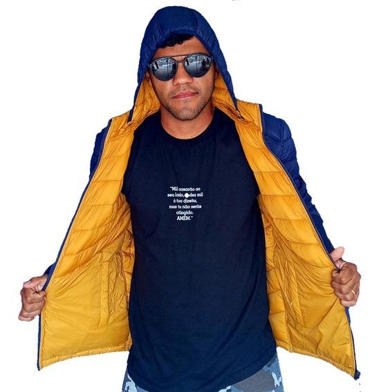 Casaco/jaqueta/blusa/ Slim Fit/frio/inverno - Dupla Face Top